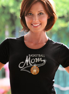 varsity basketball mom t-shirt