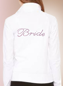 bride yoga jacket