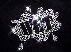 wet rhinestone heat transfer