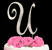 cake toppers letter U